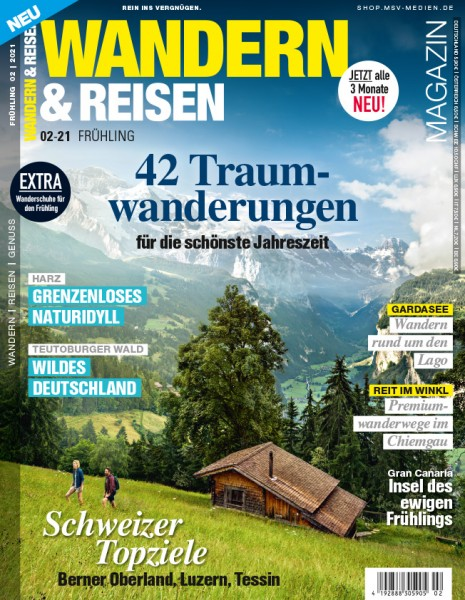 WANDERN & REISEN Magazin 02/2021
