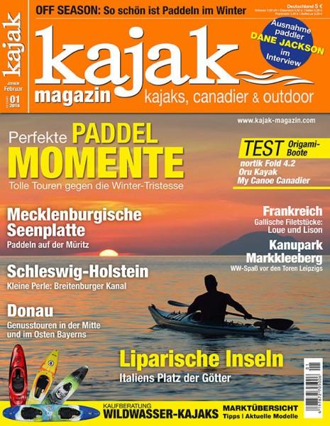 kajak-Magazin 01/2016