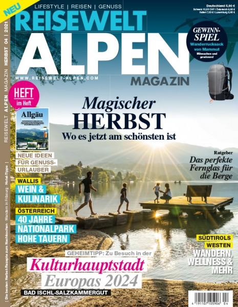 Reisewelt ALPEN Magazin 04/2021