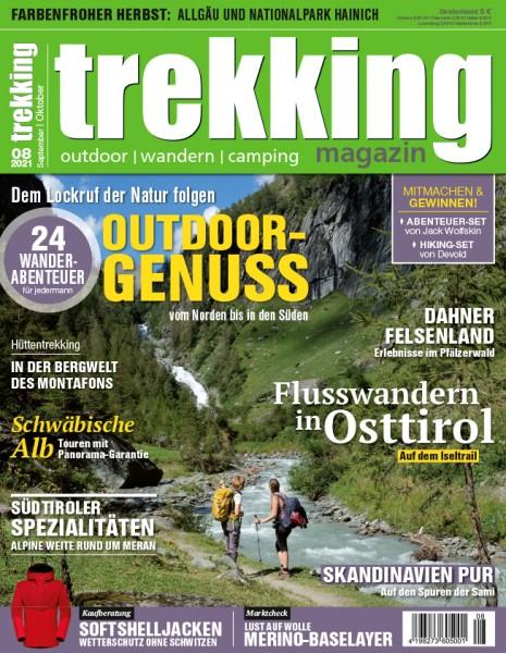 trekking-Magazin 08/2021