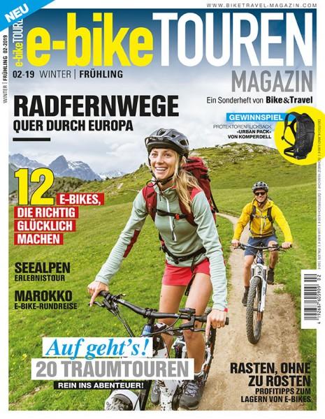e-bike TOUREN Magazin 02/2019
