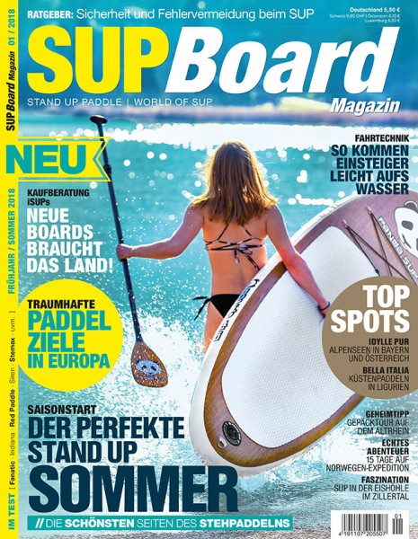 SUP Board Magazin 01/2018