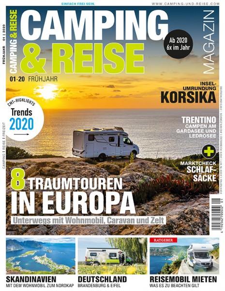 CAMPING & REISE Magazin 01/2020