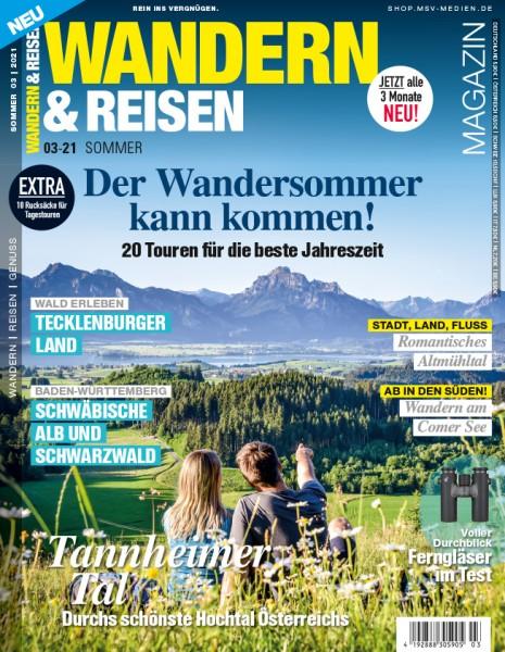 WANDERN & REISEN Magazin 03/2021