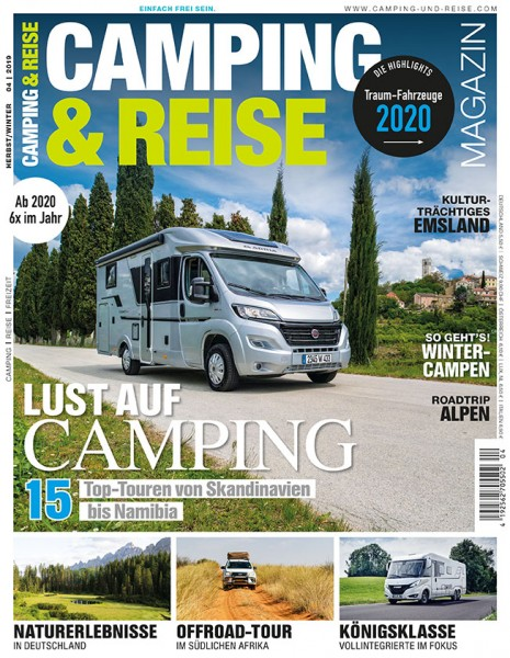 CAMPING & REISE Magazin 04/2019