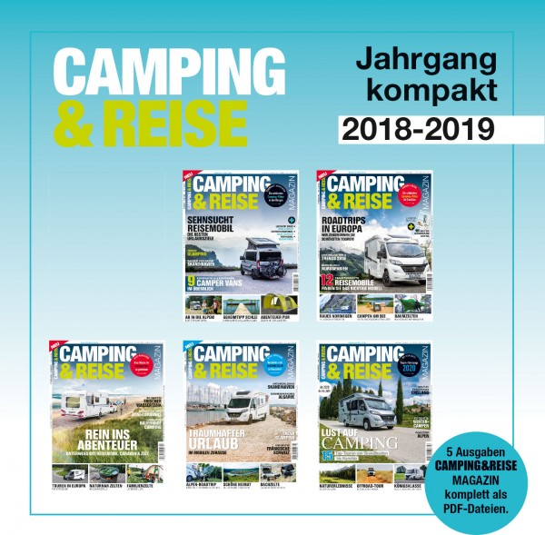 CAMPING & REISE Magazin Jahrgangs-Download 2018-19