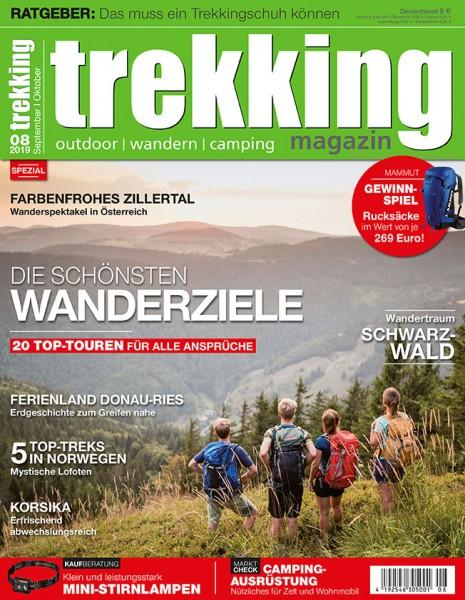 trekking-Magazin 08/2019
