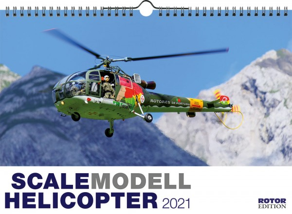 Scale Helicopter Wandkalender 2021