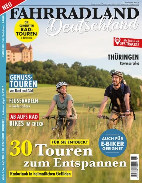 FAHRRADLAND Deutschland Magazin 02/2020