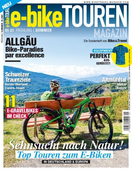 e-bike TOUREN Magazin 01/2021