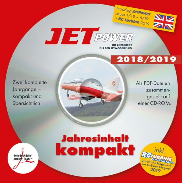 JetPower Jahrgangs-CD 2018-2019