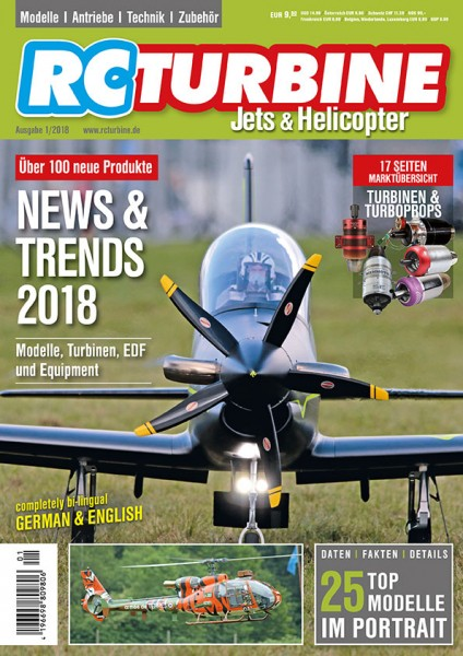 RC TURBINE Jets & Helicopter 2018
