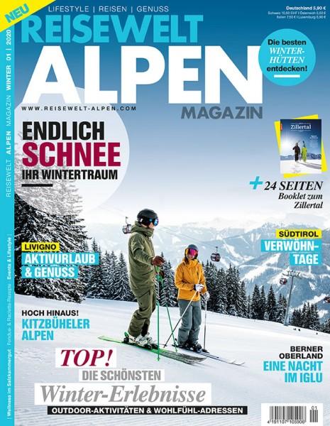 Reisewelt ALPEN Magazin 01/2020