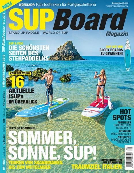SUP Board Magazin 01/2019