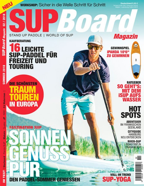 SUP Board Magazin 02/2018