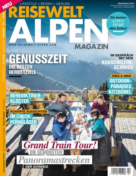 Reisewelt ALPEN Magazin 04/2020