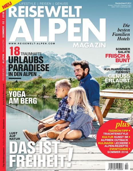 Reisewelt ALPEN Magazin 02/2018
