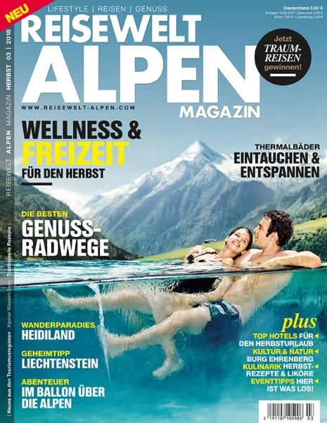 Reisewelt ALPEN Magazin 03/2018