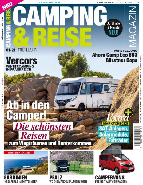 CAMPING & REISE Magazin 01/2021