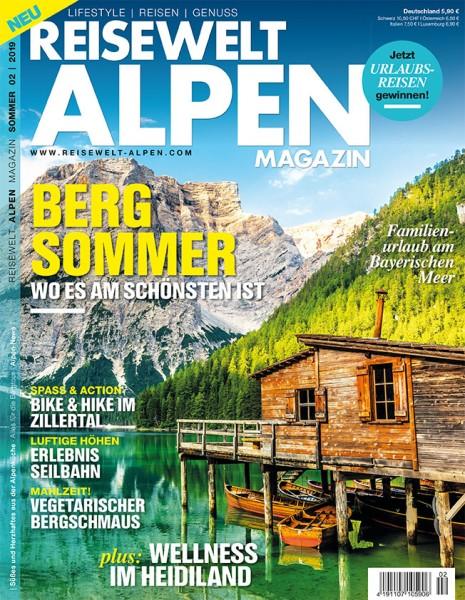 Reisewelt ALPEN Magazin 02/2019