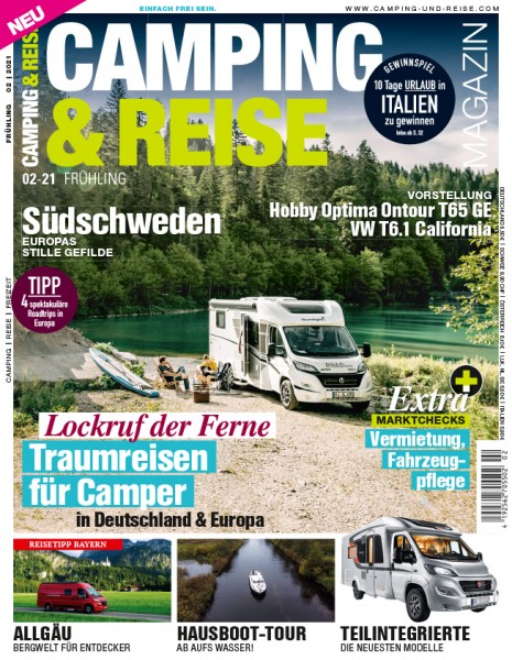 CAMPING & REISE Magazin 02/2021