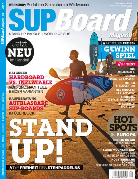 SUP Board Magazin 01/2017
