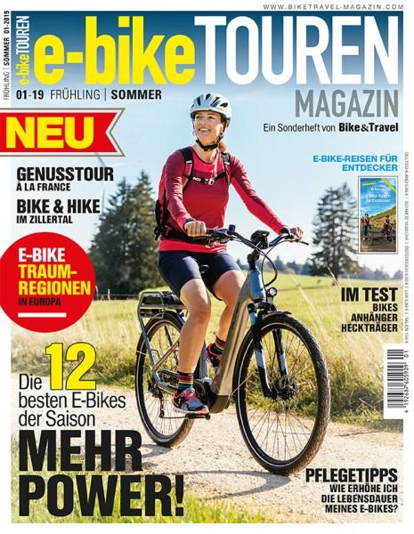 e-bike TOUREN Magazin 01/2019