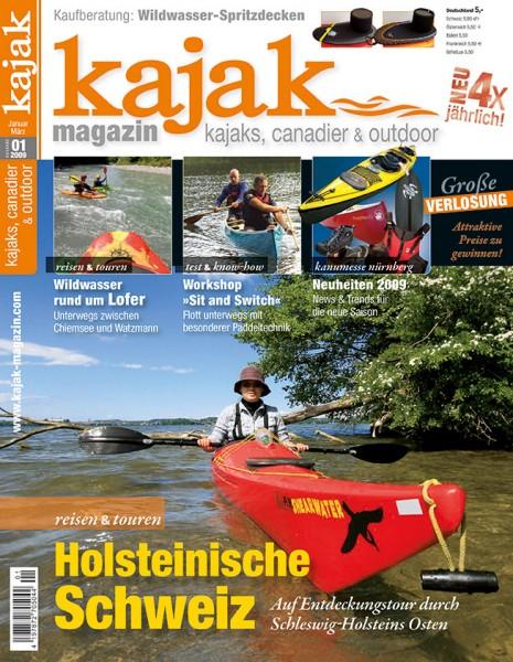 kajak-Magazin 01/2009