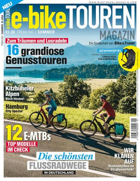 e-bike TOUREN Magazin 01/2020