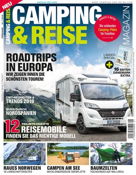 CAMPING & REISE Magazin 01/2019