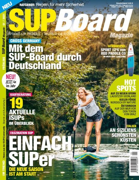 SUP Board Magazin 01/2021