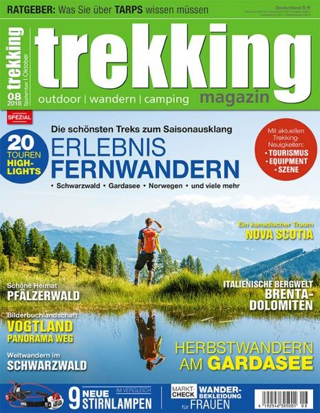 trekking-Magazin 08/2018