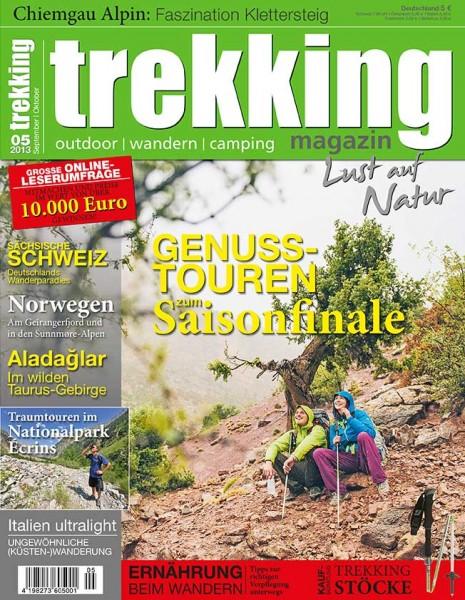 trekking-Magazin 05/2013