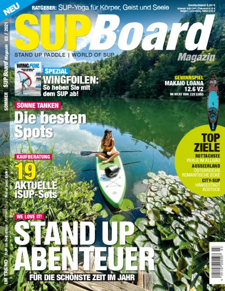 SUP Board Magazin 03/2021
