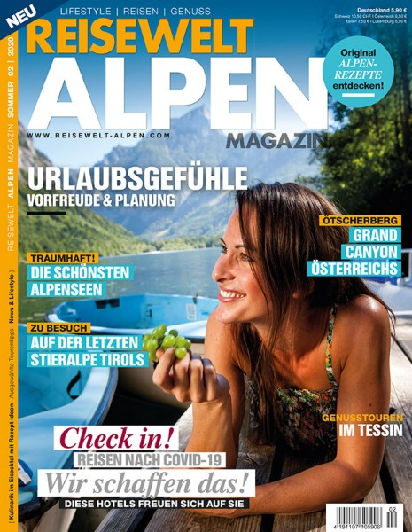 Reisewelt ALPEN Magazin 02/2020