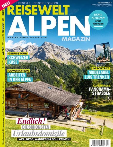 Reisewelt ALPEN Magazin 03/2020
