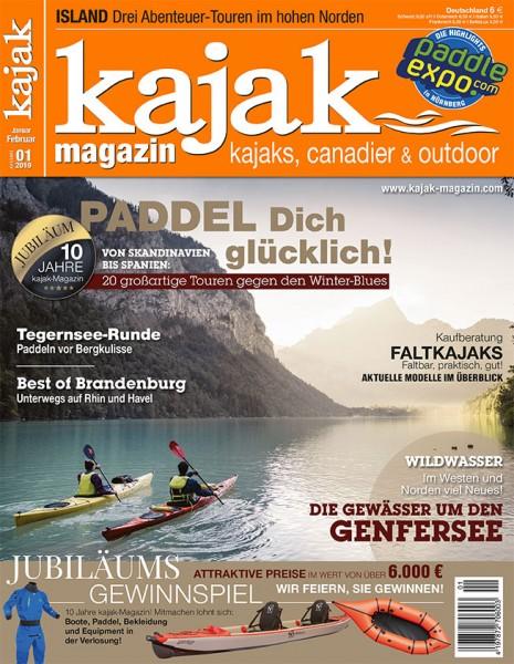 kajak-Magazin 01/2019