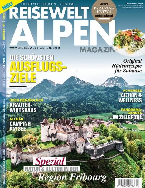 Reisewelt ALPEN Magazin 04/2019