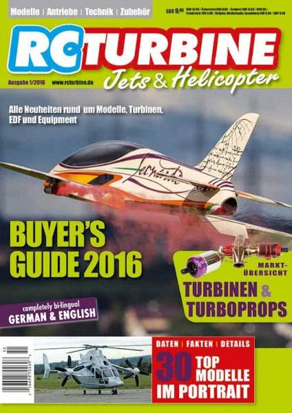 RC TURBINE Jets & Helicopter 2016