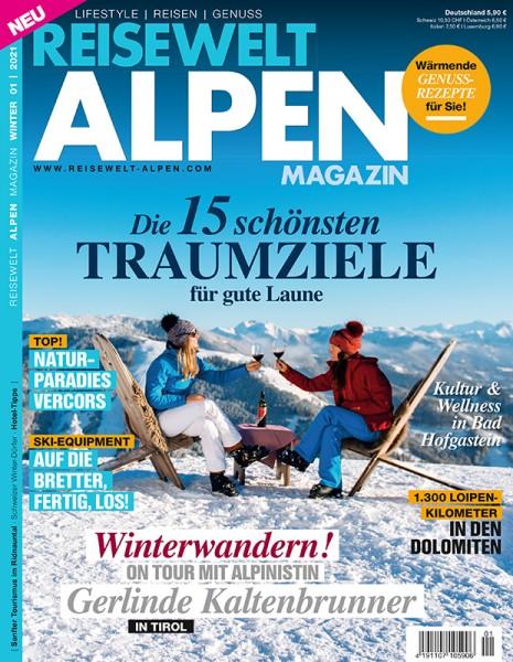 Reisewelt ALPEN Magazin 01/2021