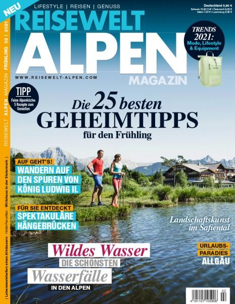 Reisewelt ALPEN Magazin 02/2021