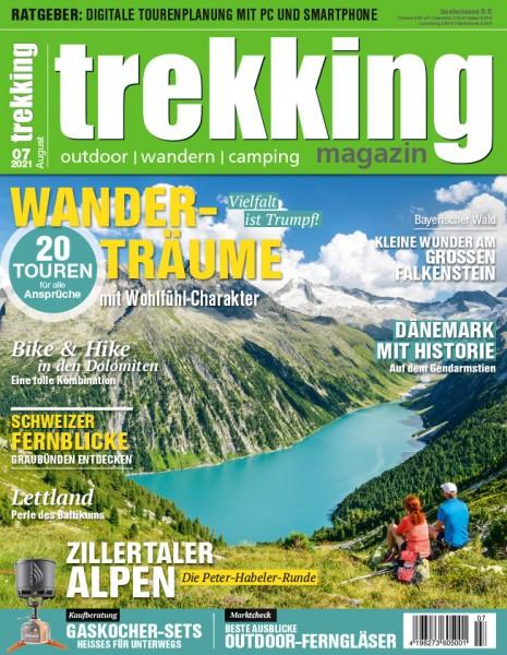 trekking-Magazin 07/2021