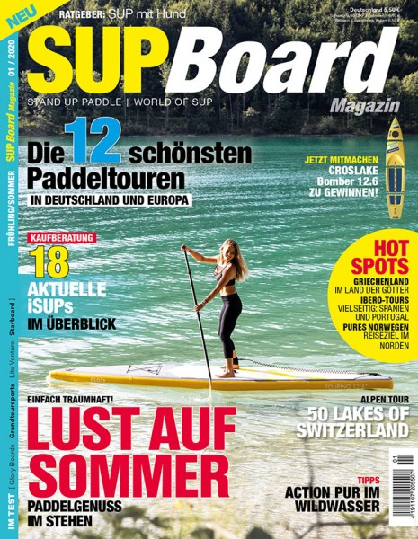 SUP Board Magazin 01/2020