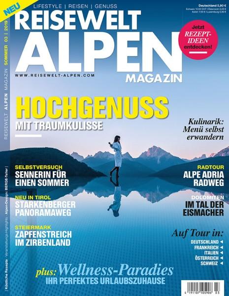 Reisewelt ALPEN Magazin 03/2019