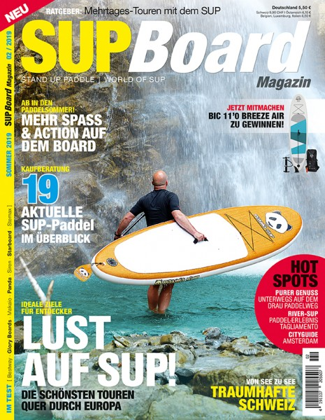 SUP Board Magazin 02/2019