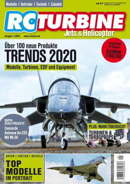 RC TURBINE Jets & Helicopter 2020