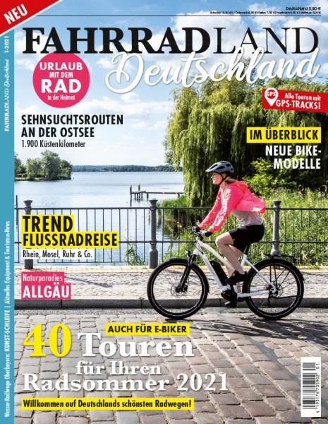 FAHRRADLAND Deutschland Magazin 01/2021