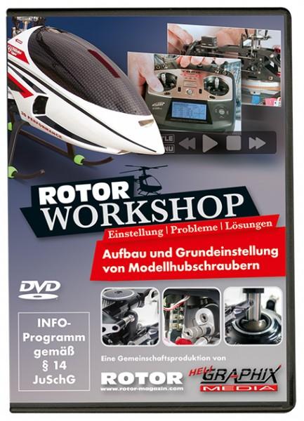 DVD ROTOR-Workshop – Einstellung, Probleme, Lösungen