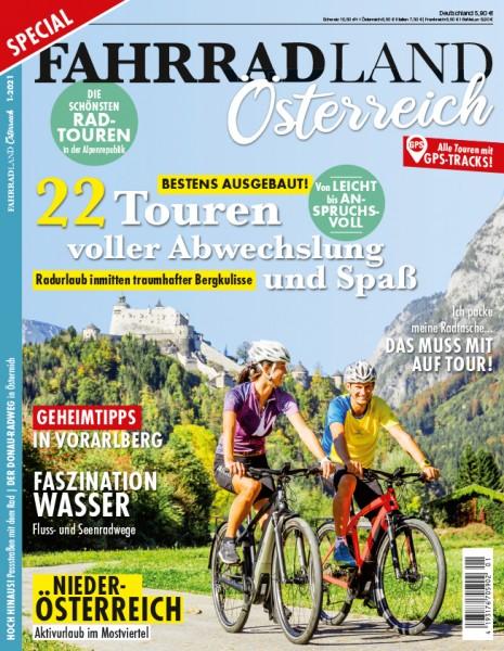 FAHRRADLAND Österreich Magazin 01/2021