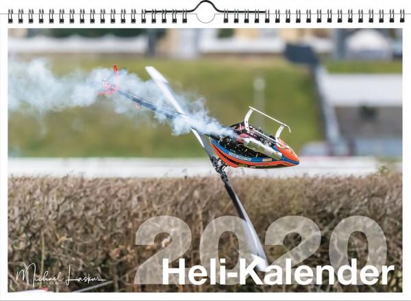 3D Modellhelikopter Wandkalender